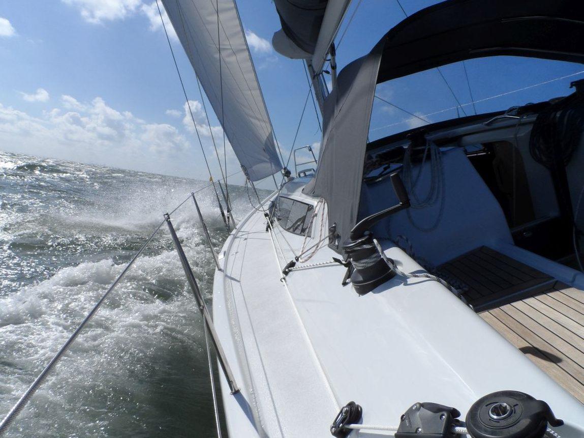 Dehler 38 Netyachting Bruinisse Grevelingen Vaart Aan De Wind